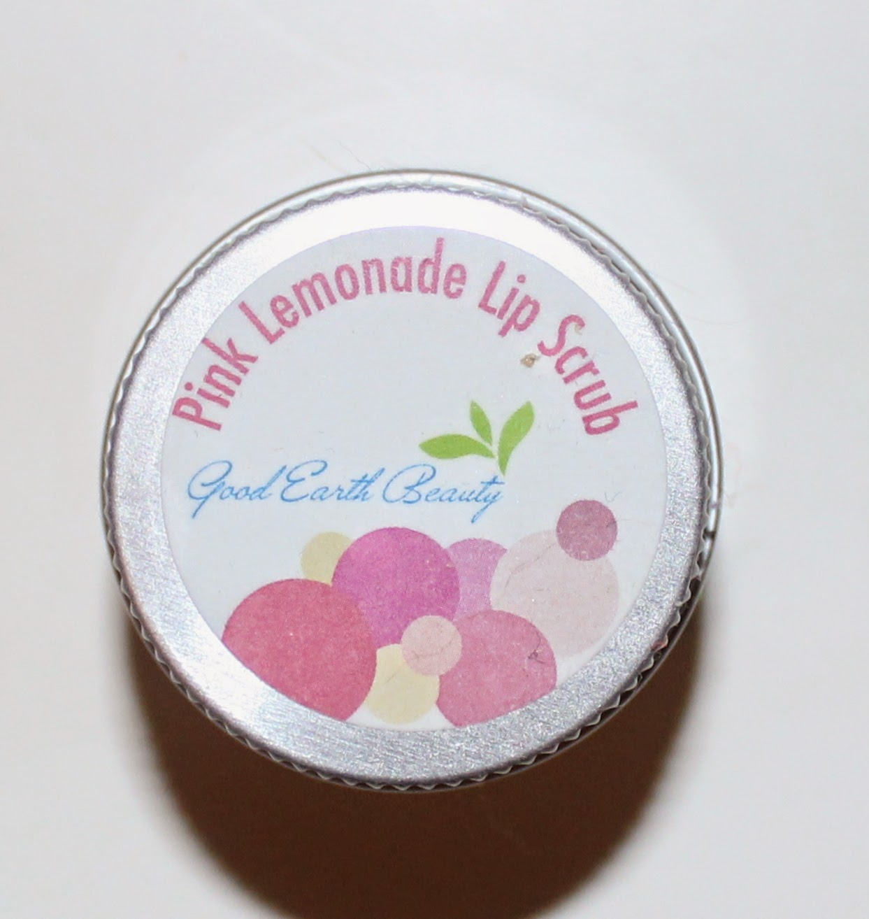 Green Earth Beauty Pink Lemonade Lip Scrub