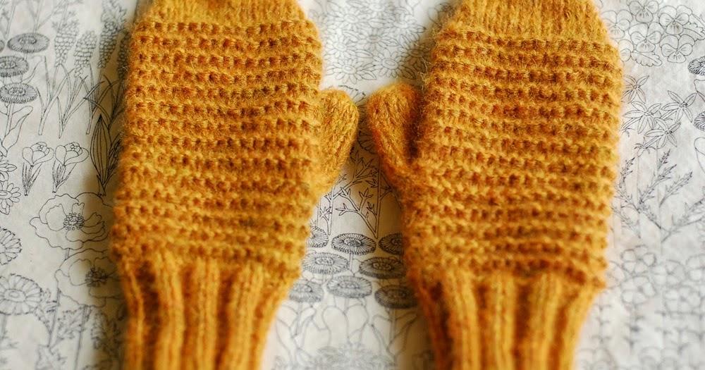 Home Ec Workshop: Knitting Class: Cozy Garter Stitch Mittens