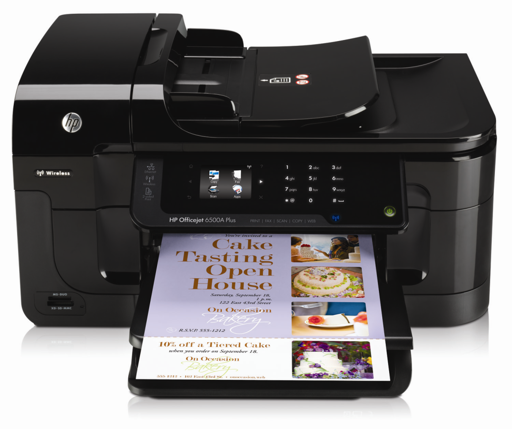 General Printer Error Hp Officejet 6500 Wireless | Hei Jude