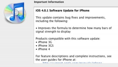 Apple Rilis Software Update untuk iPhone dan iPad