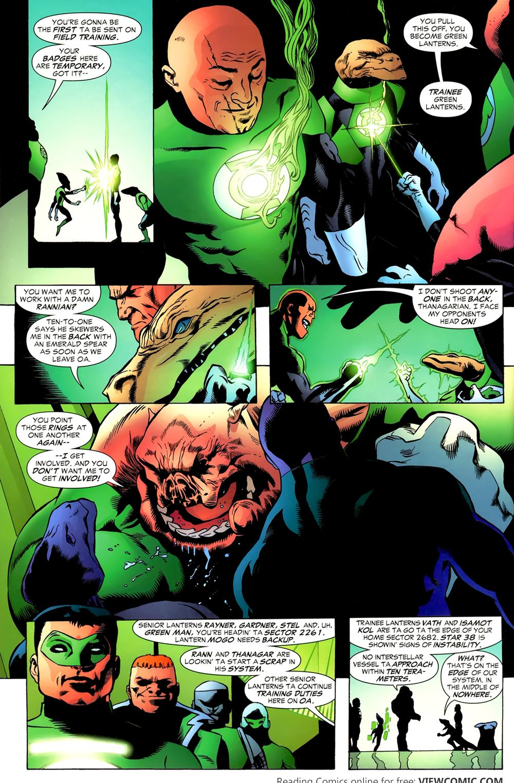 green lantern corps recharge 02 of 5 2005 reading comics