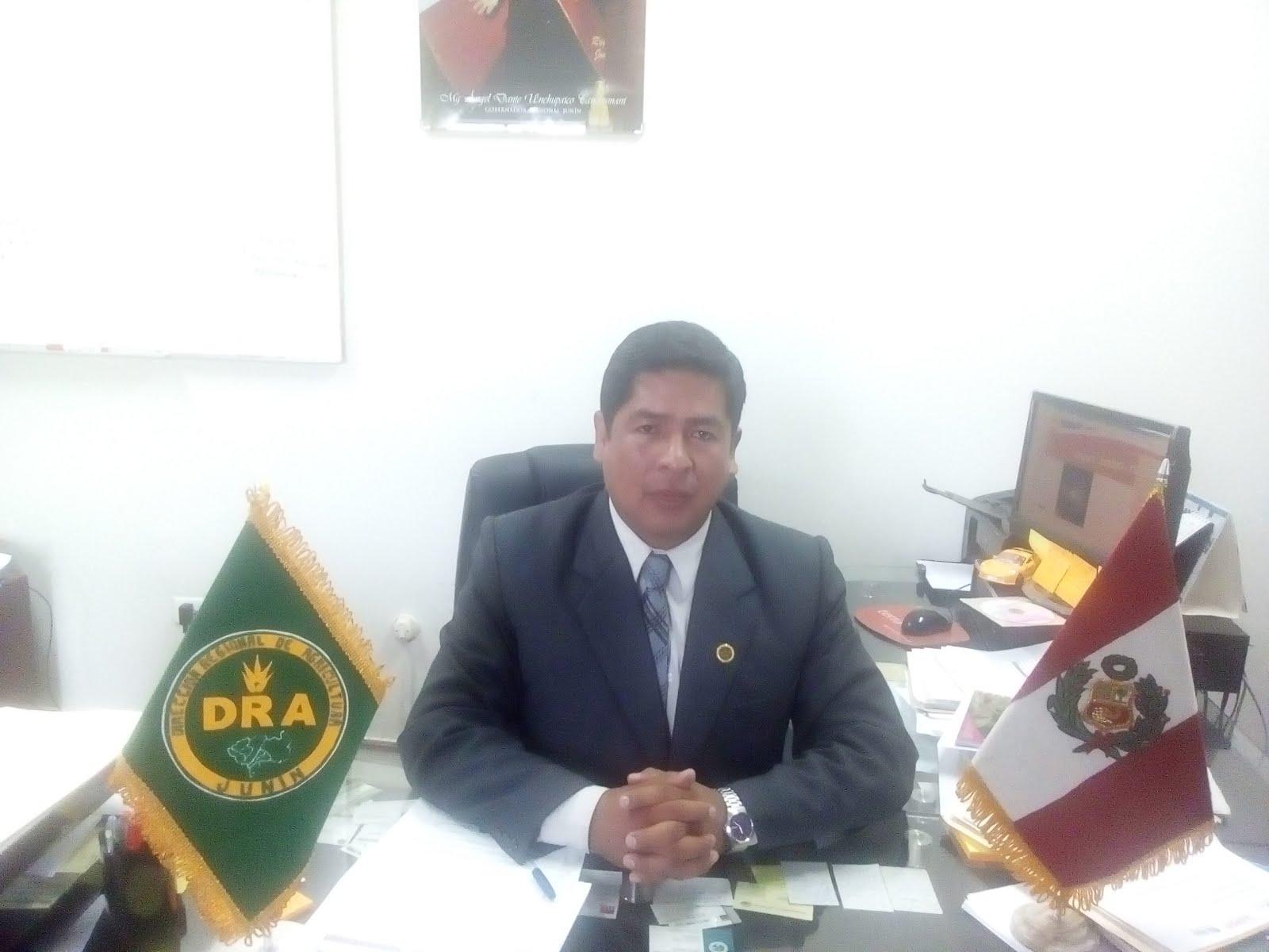 ING. PAULO VASQUEZ GARAY TORRES, DIRECTOR REGIONAL DE AGRICULTURA JUNIN
