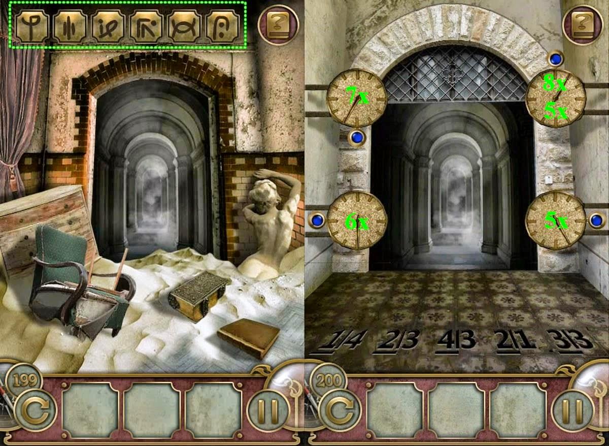 Escape The Mansion Level 198 199 200 201 202 Solve