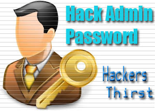 admin password hack