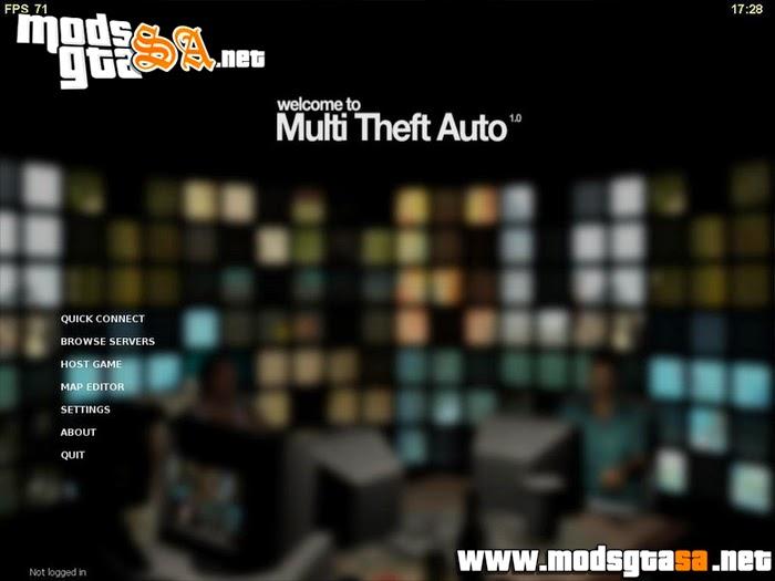 MTA:SA - Multi Theft Auto: San Andreas Online