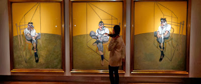 """""""Three Studies of Lucian Freud"""" by Francis Bacon, 1969 (142 million, Bought in 2013)"""