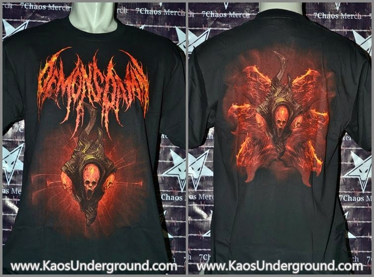 DEMONDAMN KAOS UNDERGROUND 7CHAOS MERCH RIOTIC