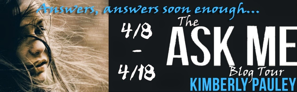 ask me by kimberly pauley blog tour banner