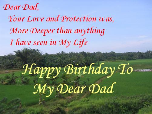 Happy Birthday to Dad!