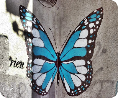 Graffiti: mariposa