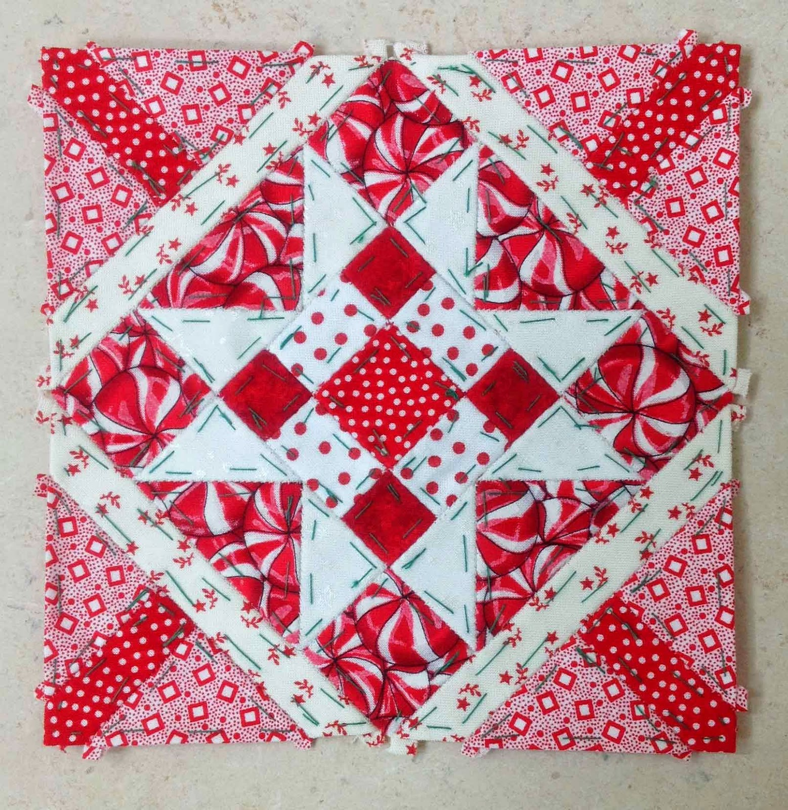 Block 54 - Nearly Insane Quilt