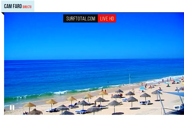 Live Cam Praia Faro