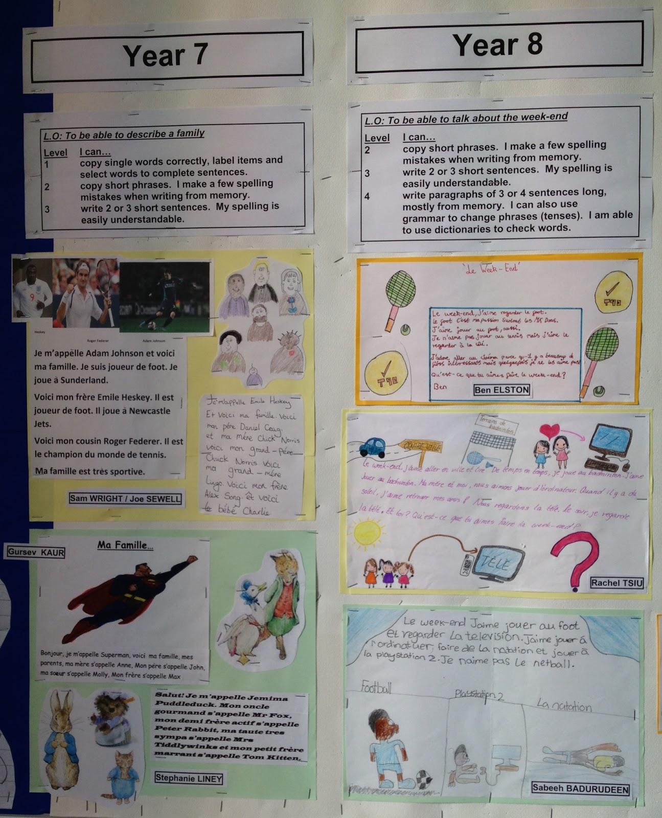 Modern Language Classroom Displays : Wis modern foreign languages new classroom displays in room