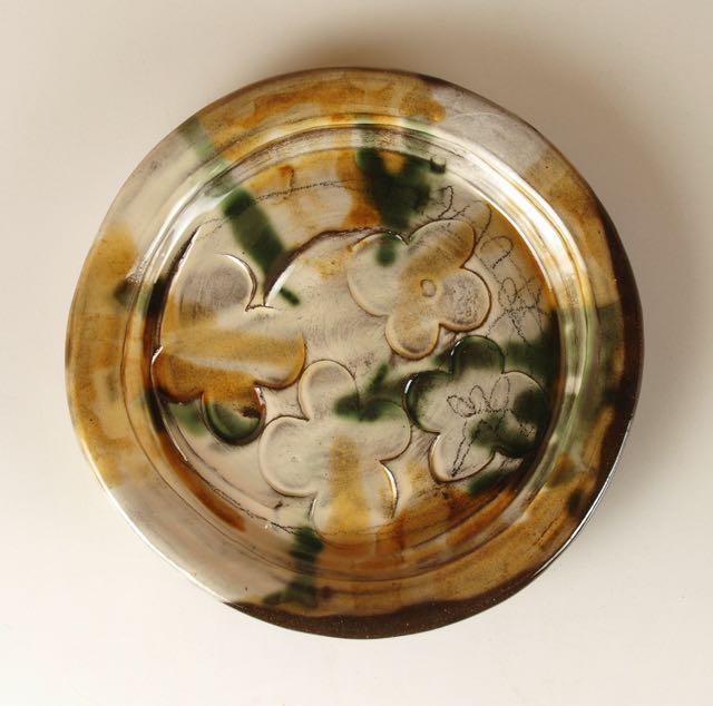 earthenware plate sheila herring Wobage
