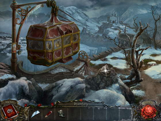 Living Legends: Ice Rose Collector's Edition. Iced funicular.