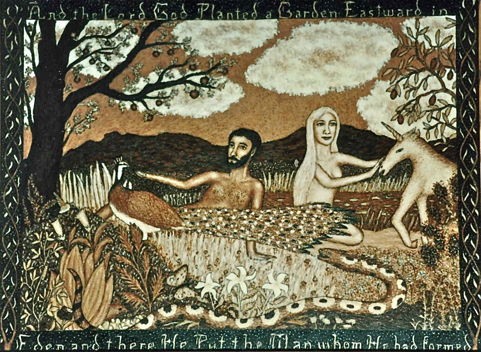 Stephen Warde Anderson Art: The Temptation of Eve