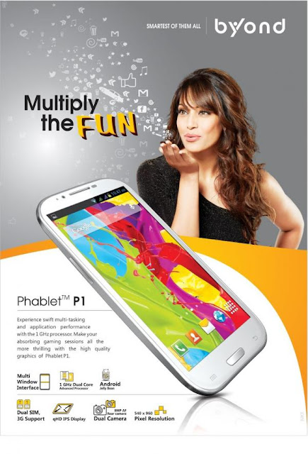Bipasha Basu's New Print Ad for Byond
