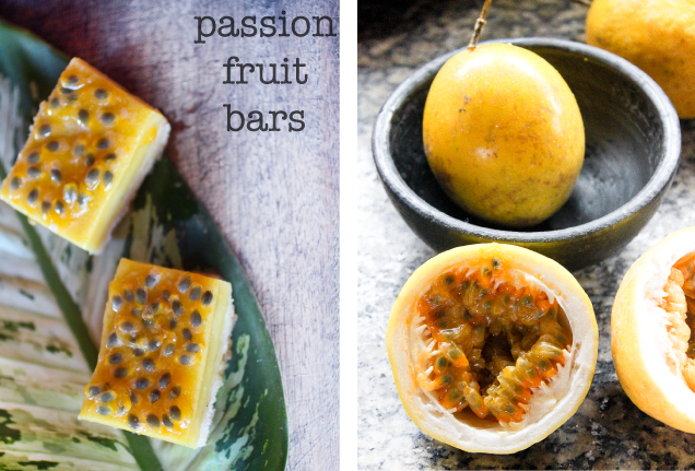 Kitchen Corners: Passion Fruit Bars