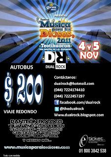 Transporte Toluca - Festival Musica Para Los Dioses 2011