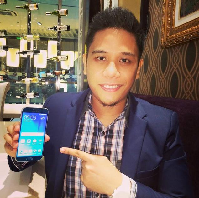 Samsung Galaxy S6 Philippines, Samsung Galaxy S6 Dual SIM, Mark Milan Macanas