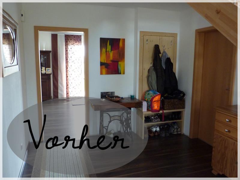 The home is a work in progress teil 4 creativlive - Flur vorher nachher ...
