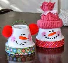 Décorations de Noël avec des Matériaux Recyclés
