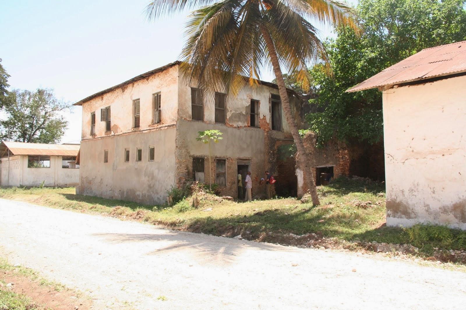 Old stone town of Pangani