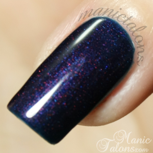 Gelish Deep Sea Swatch Closeup
