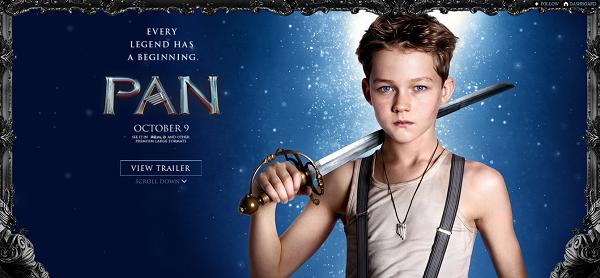 Pan - Levi Miller (Peter Pan)