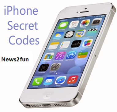Secret codes for Apple iPhone Smartphones