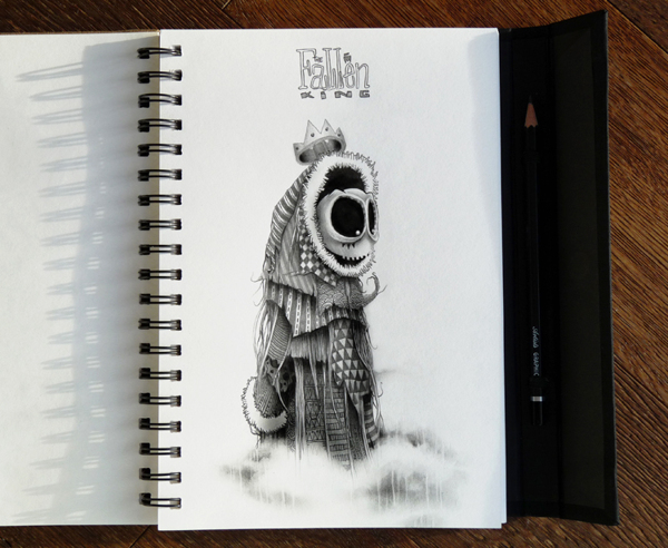 astelvio  awesome sketchbook drawings and illustrations by