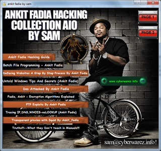 HACKING EBOOK COLLECTION BY ANKIT FADIA