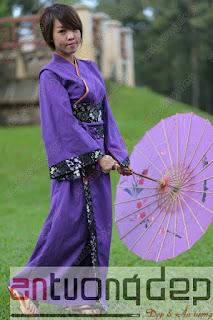 cho thuê trang phục kimono