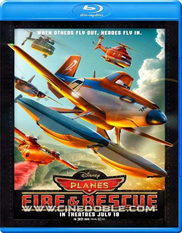 Aviones: Equipo de Rescate (2014) 1080p Latino