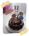 Torta 11 años de Tamara