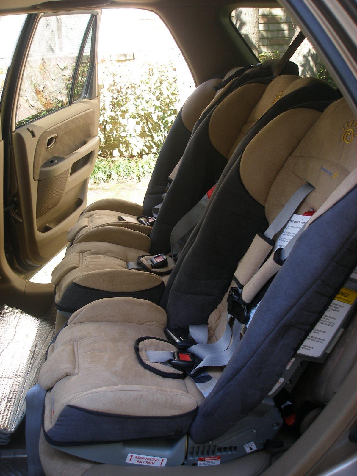 Surviving Triplets: Car Seat Confessions