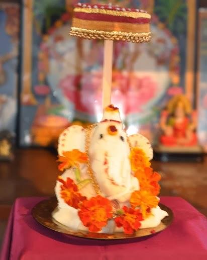Rice flour Ganesha