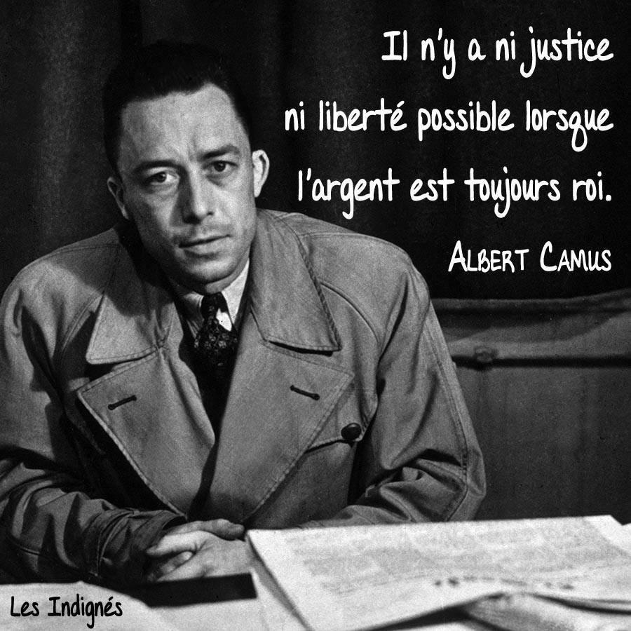 Merci Albert Camus