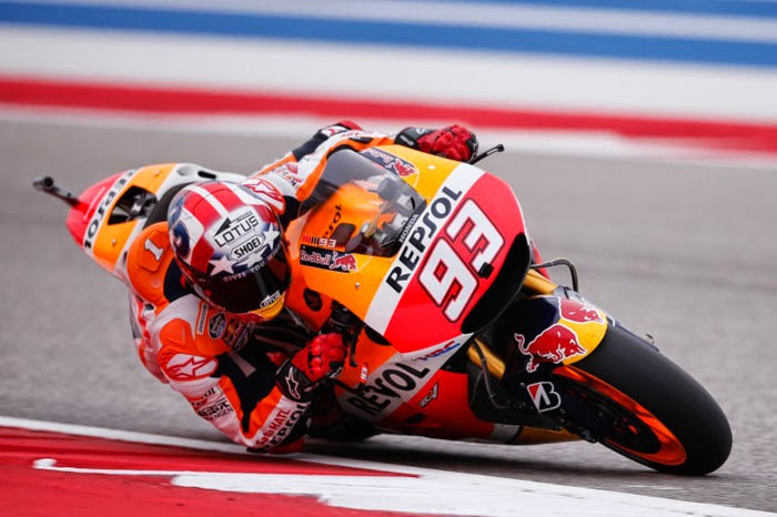 MotoGP Austin 2015 - Full Qualifying Results