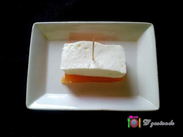Preparamos un pincho de membrillo con queso fresco