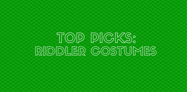 Riddler Costume for Kids and Adults