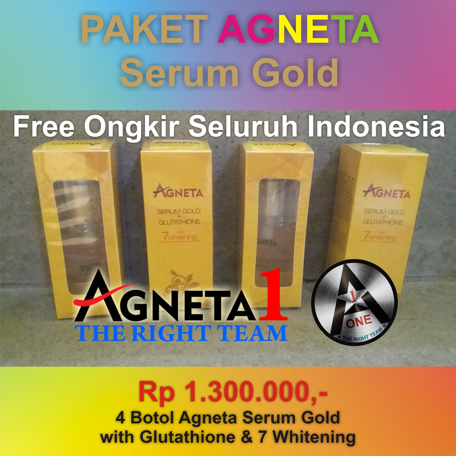 Produk Agneta Serum Gold