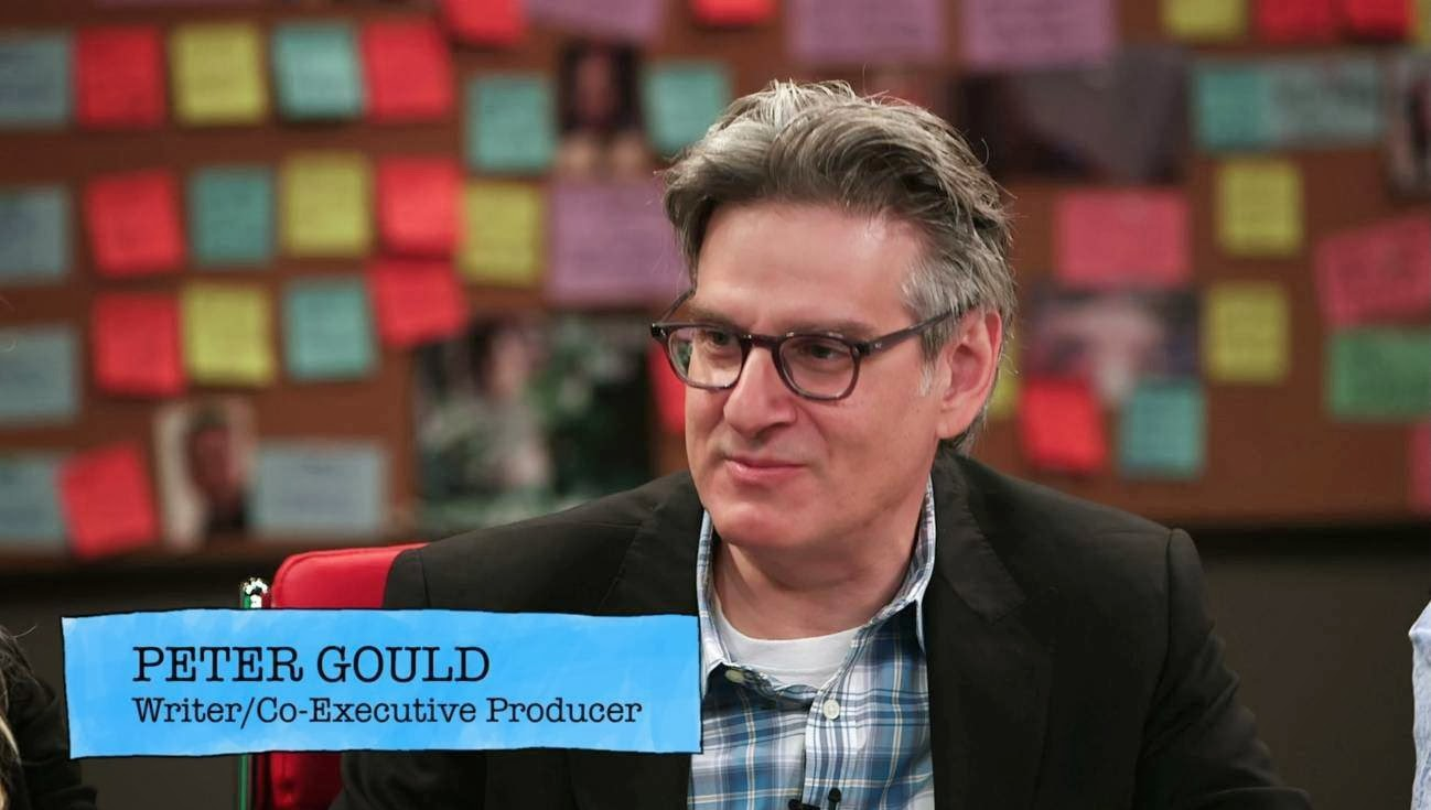 the writers room peter gould