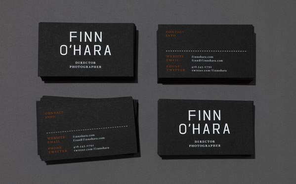 35 elegant photographer business card designs inspiration jayce o photography business card design accmission Image collections