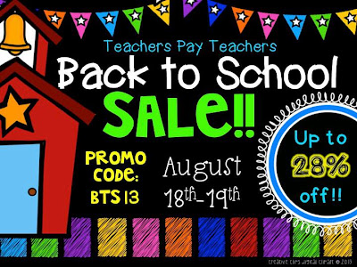 TPT Back to School Sale, The Schroeder Page, Photo