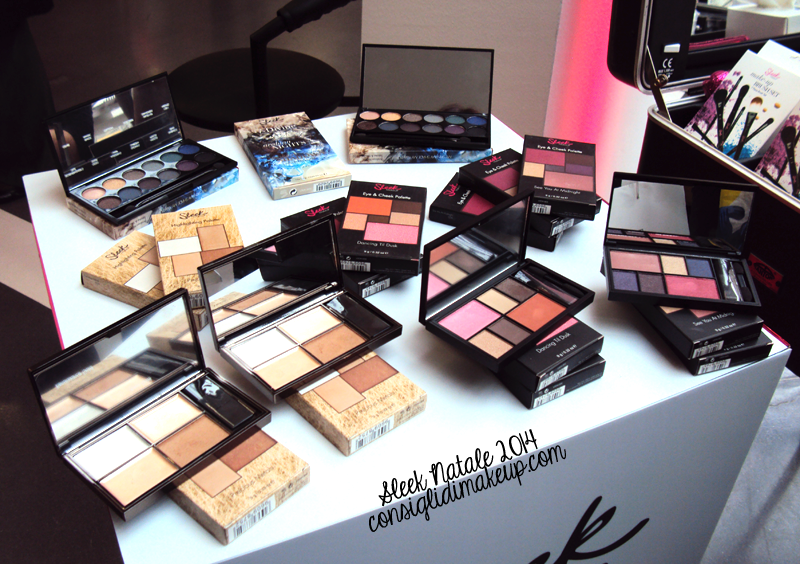 sleek make up natale 2014 sephora