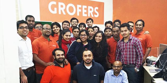 Grofers.com team pics