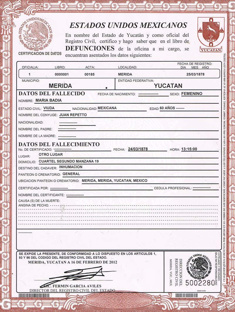 Los Repetto en Yucatán: diciembre 2012
