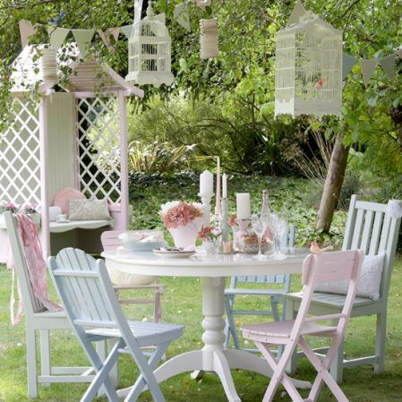 giardini shabby chic arredo esterno : Vintage Pearl: The Inspiration - The Vintage Garden