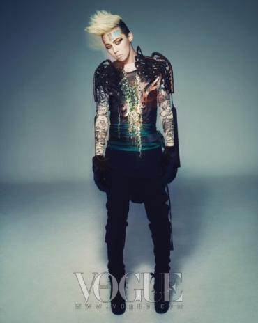 G-Dragon for Vogue Korea 2009